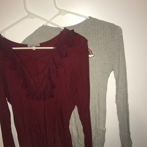 Tops - SET of TWO bodysuits